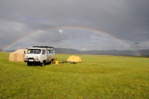 Searching for the pot of gold in Mongolia
