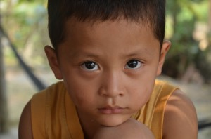 Striking eyes of Vietnam