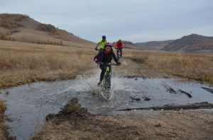 Mongolia bike ride