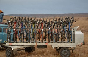 Mongolia bike tour