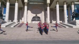 Parliment Building Ulaanbataar Mongolia