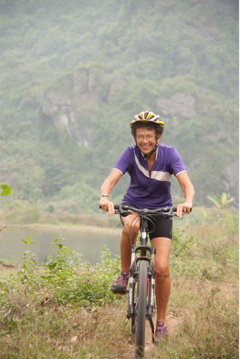 over 40s cycle touring