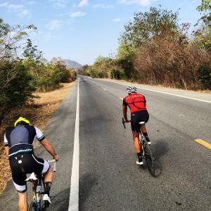 Riding in Kanchanaburi