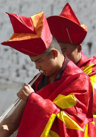 Bhutan musicans