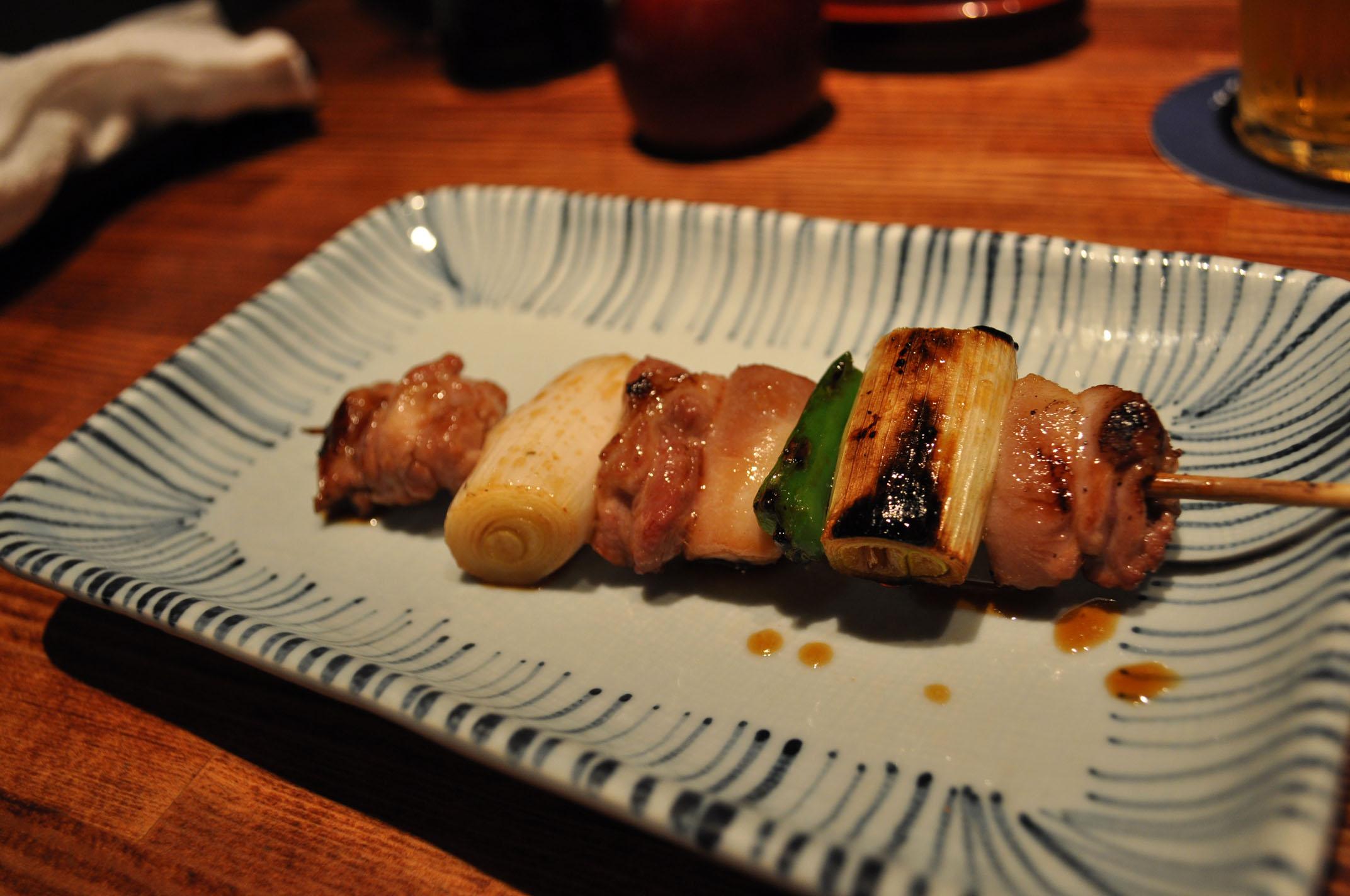 Yakitori_-_Chicken_thigh_and_negi