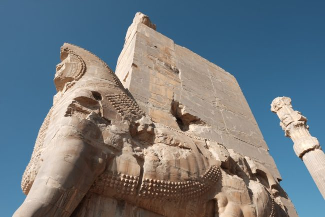 mythical-creature-main-gate-persepolis-iran